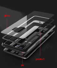 Luxury Tempered Glass Case Cover For Samsung Galaxy S9 Plus note 9 10 S10 plus