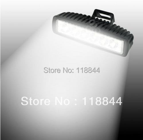 Spot 18W LED Work Bar Light Slim Off Road Car Truck ATV UTV Fog Driving Lamp DRL