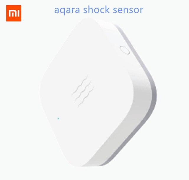 Capteur de Vibration Original xiaomi mi jia Aqara et capteur de sommeil objets de valeur surveillance d'alarme choc de vibration travail avec l'application mi home