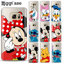 Cartoon Mickey Minnie Soft TPU Case Cover For Samsung Galaxy J3 J5 J7 A5 A7 2017 J3 J7 J8 J4 J6 A6 A8 2018 S10 s8 s9 Plus S10e(China)