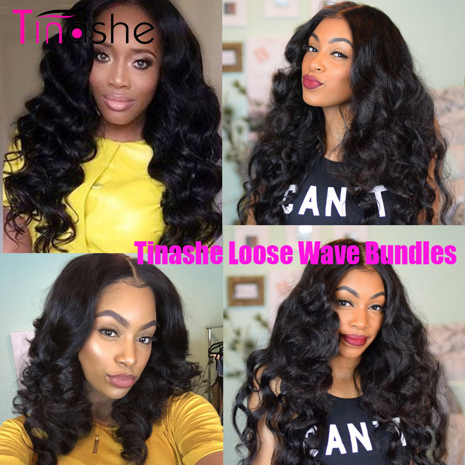 HTB1 9SzaN1YBuNjy1zcq6zNcXXah Tinashe Hair Brazilian Hair Weave Bundles With Closure Remy Human Hair 3 Bundles With Closure Loose Wave Bundles With Closure