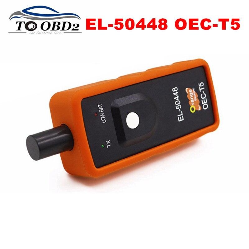 Super Auto Pressure Tester EL50448 TPMS Reset Replacement Scanner For GM/Opel Series Vehicle EL-50448 OEC-T5 EL 50448