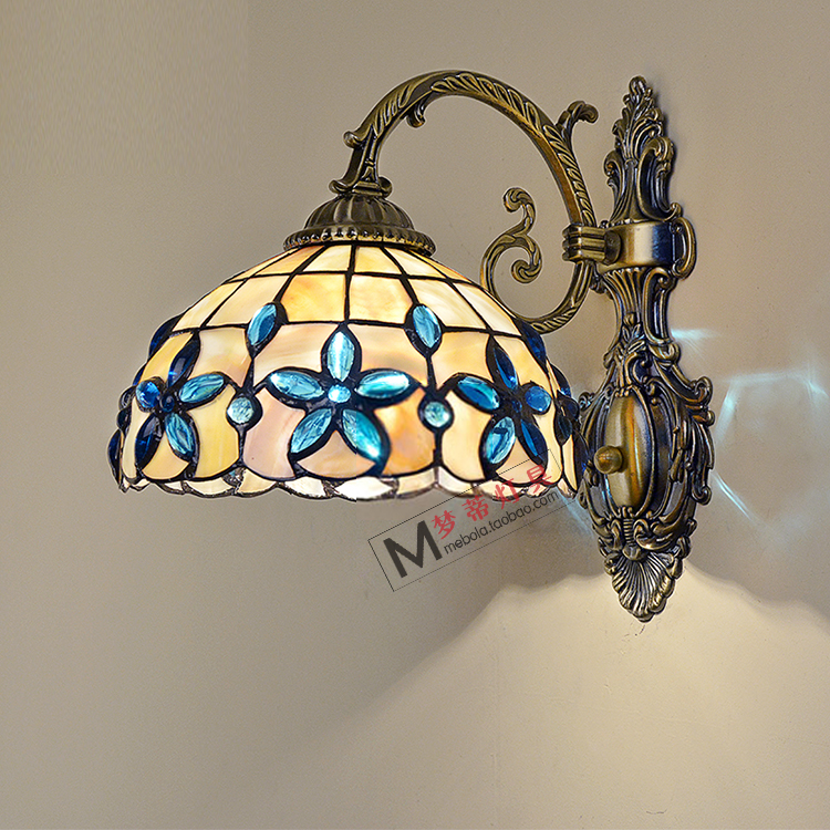 Acquista all'ingrosso online stained glass wall light da grossisti ...