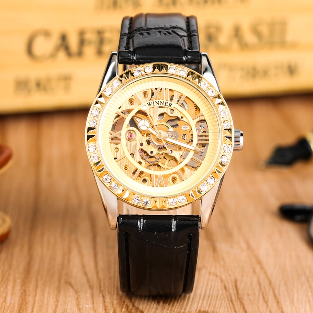 Top Brand Men Watch Fashion Luxury Meachanical Watch Automatic Self-Wind Casual Leather Strap Skeleton Clock Male relojes hombreTop Brand Men Watch Fashion Luxury Meachanical Watch Automatic Self-Wind Casual Leather Strap Skeleton Clock Male relojes hombre