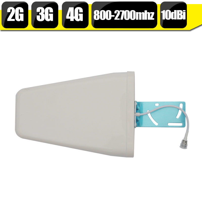 Outdoor 800-2700mhz GSM 3G WCDMA 4G LTE Mobile Phone Signal Antenna 10dBi External Cellphone Log Periodic Antenna For Booster