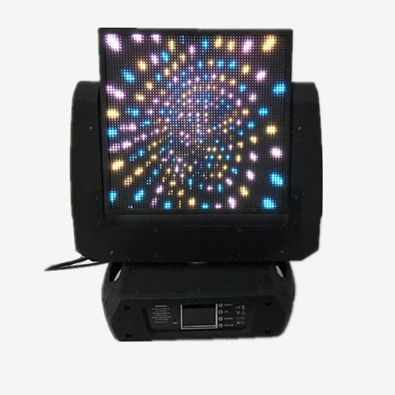 Новый стиль dmx управление 64 X светодио дный 64 пикселей светодиодный волшебный движущаяся головка дисплей цветной светодио дный светодиодны