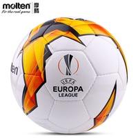 Original Molten F5U3200 K19 Size 5/4 PU Match Ball Professional football soccer goal balls of football ball balon bola de futbol