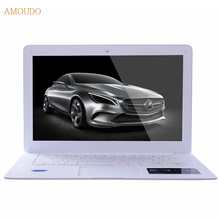 Amoudo 8 ГБ RAM + 64 ГБ SSD + 750 ГБ HDD 14 дюйма 1920*1080 FHD Windows 7/10 система Intel Quad Core Ультратонкий Ноутбук Ноутбук