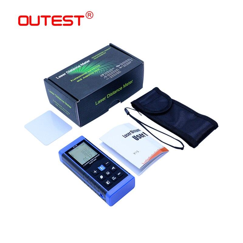 Laser Rangefinders lazer Distance Meter digital 40 60 80 100m distance meter measurement laser font b