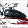 80cc 60cc 66cc 49cc motor bike bicicleta motorizada tanque de combustible de 0.5 galones 2L negro