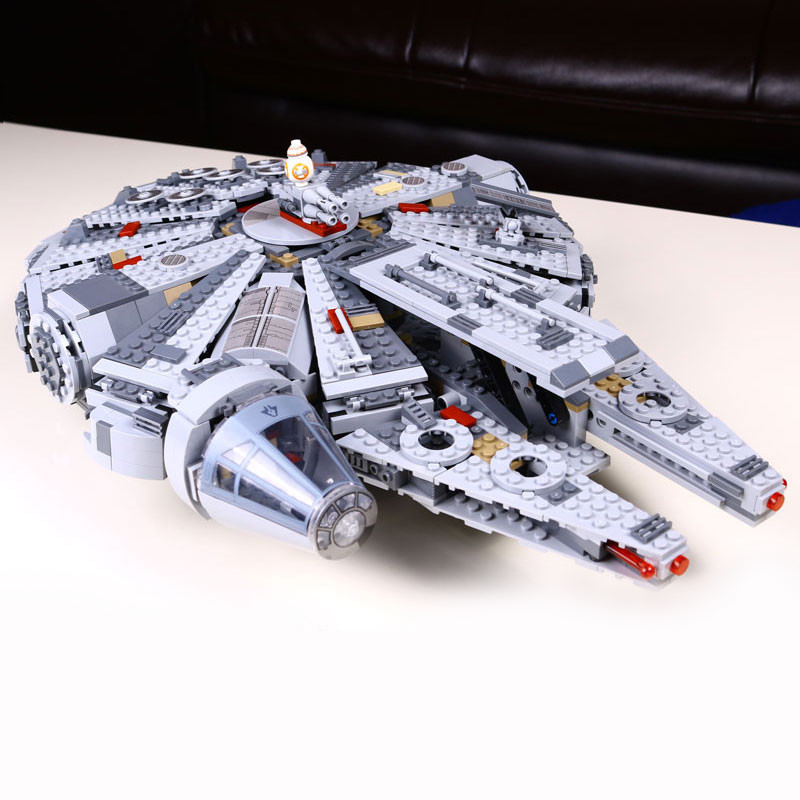 05007 Star Wars Series Force Awakens Millennium Falcon Educational Building Blocks Marvel Kids Toy For Children Gift 10467 LEPIN building blocks stick diy lepin toy plastic intelligence magic sticks toy creativity educational learningtoys for children gift