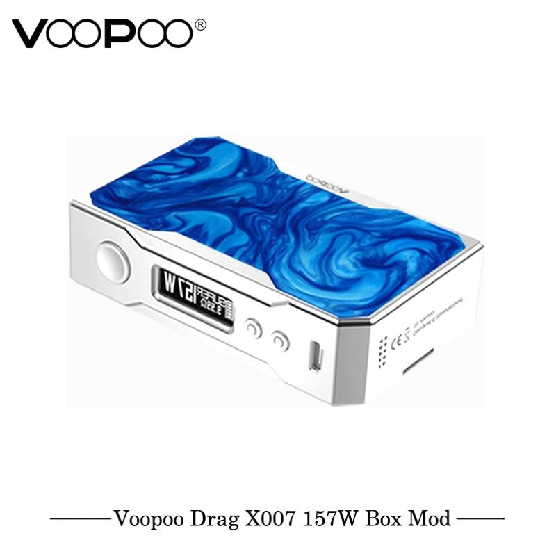 D'origine Cigarette Électronique VOOPOO GLISSER 157 w TC Boîte MOD 157 w 18650 boîte mod Vaporisateur avec NOUS GÈNE puce TC Résine Boîte mod E Cigarette - 3