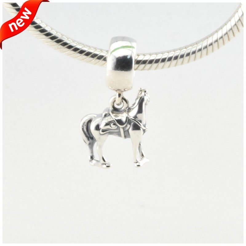 Disny Maximus Beads Fits Pandora Charms Bracelet Animal Horse Beads Original 925 Sterling Silver Jewerly 2016 Spring Collection  (2)