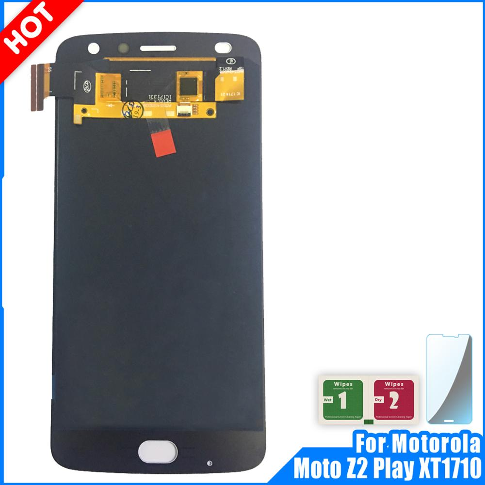LCD Display For Motorola Moto Z2 Play XT1710 Display Touch Screen Digitizer Assembly For Moto Z2 Play LCD Replacement PartsLCD Display For Motorola Moto Z2 Play XT1710 Display Touch Screen Digitizer Assembly For Moto Z2 Play LCD Replacement Parts