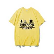 Funny Stranger things 3 t shirt  women tv show T-shirt vogue Summer 2019 plus size tshirt Femme casual tops camiseta streetwear