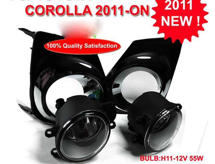 car-styling,Corolla halogen light,2007~2013,Free ship!2pcs/set,Corolla fog light;car-covers,Corolla headlight 2011 2013 golf6 fog light 2pcs set wire of harness golf6 halogen light 4300k free ship golf6 headlight golf 6