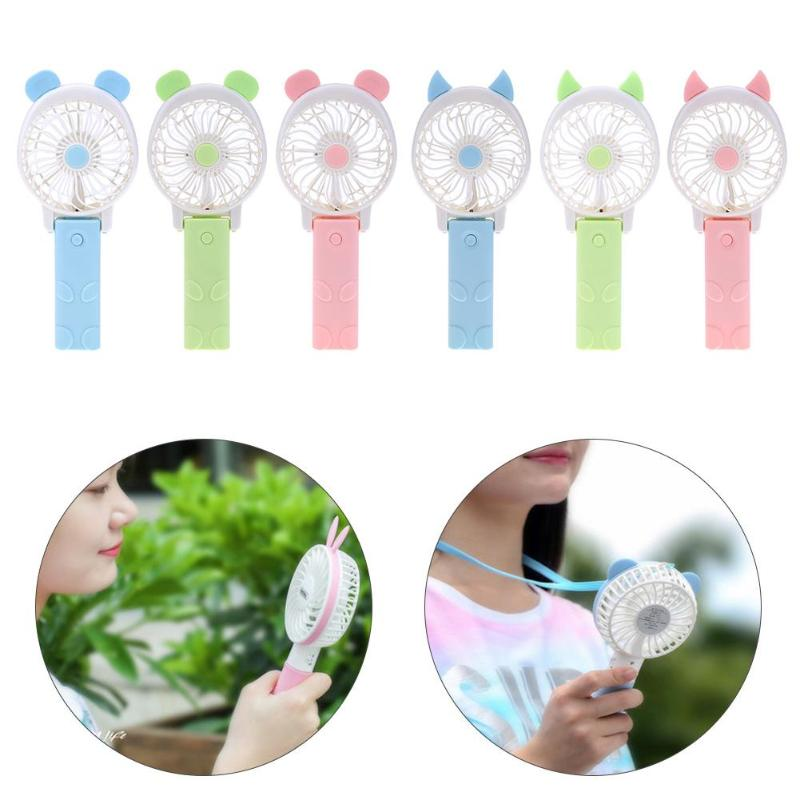 Rechargeable Electric Mini USB Cooler Fan Device Handheld Cooling Fan for Outdoor Home Office Desk Pocket Cooler Fan portable cooling fan with mini usb cute mermaid handheld rechargeable practical for office home school use