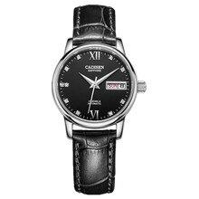 CADISEN Reloj de Cuarzo de La Manera SUPERIOR de Acero Inoxidable Relojes Hombres Marca de Lujo 3TM Resistente Al Agua Relogio masculino hombres relojes de pulsera