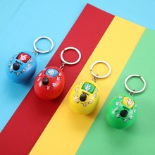 Keychain Pendant Rock-Paper-Scissors Guessing Toy Kids Toys Family Games Toys for Children Gift Magic Funny Antistress Toys Gift(China)