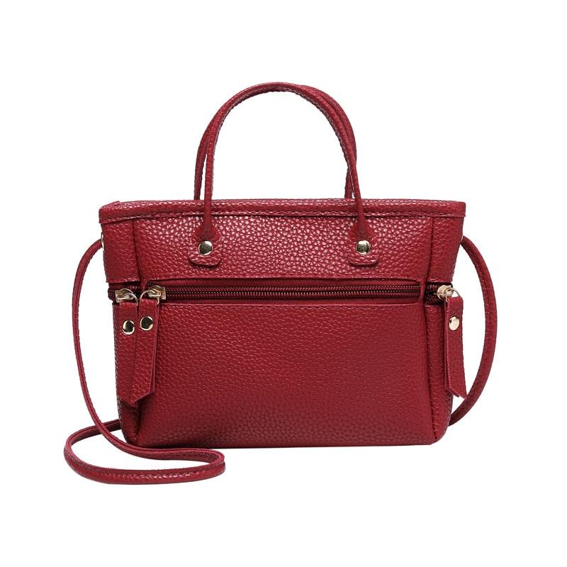 2019 New Fashion Women Mini Crossbody Bag Lady PU Leather Shoulder Bags Handbag WML99
