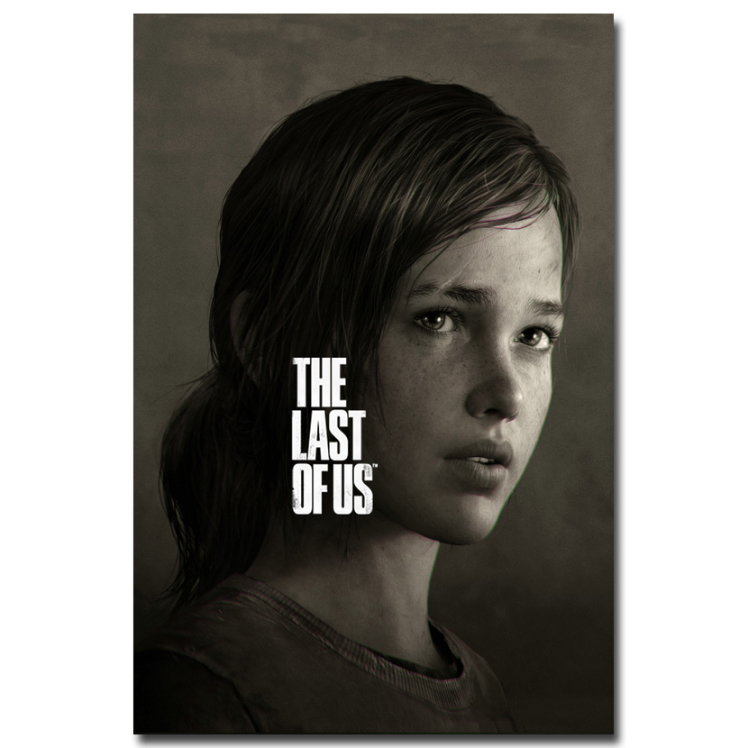 The Last of Us Silk Fabric Wall Poster Print Zombie Survival Horror Action TV Game Pitcures 12x18 20x30 24x36 inches 007