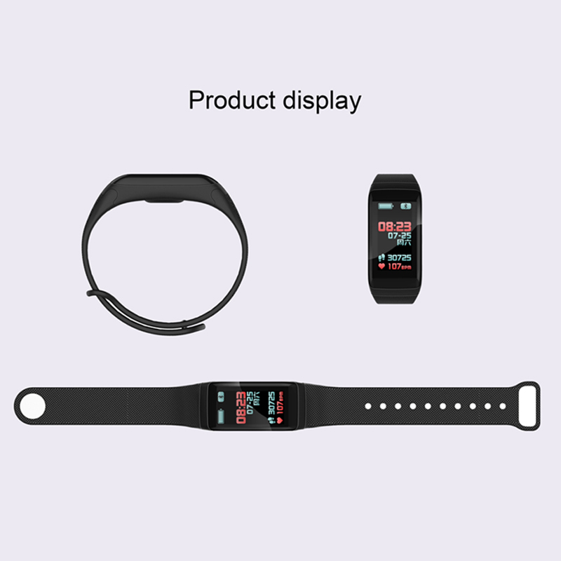 Image 5 - F1 Plus Color Lcd Screen Fitness Tracker Sleep Tracker Smart Bracelet Heart Rate Monitor Waterproof Smart Watch Activity Tracker-in Smart Wristbands from Consumer Electronics