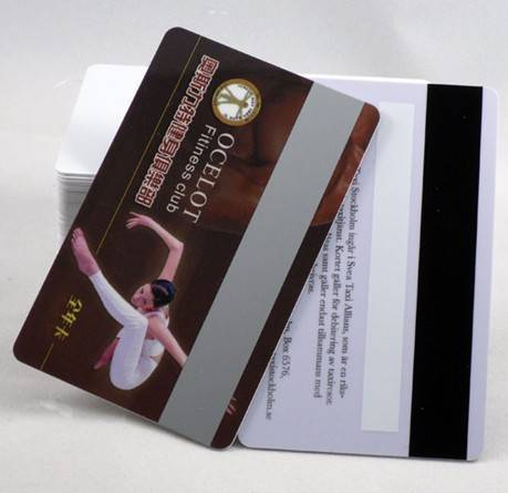 Hico magnetic stripe card printing 2750OE supermarket card student card plastic card