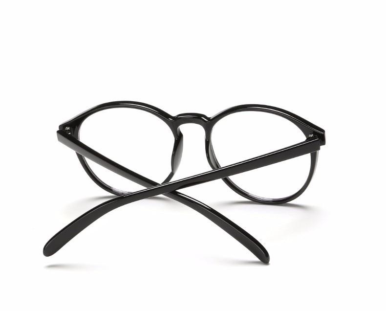 1278860ff19 DIDI Round Plastic Leopard Glasses Frame Vintage Spectacle Frames For Women  Men Accessories Eyewear Frames Lunette De Vue H144 2458027935 1159387308