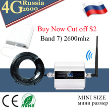 4G cellular signal booster LTE 2600mhz (LTE Band 7) Mobile Signal Repeater 2600 Network Data Cellular Amplifier Antennte