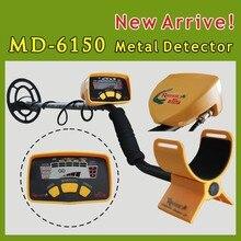 Profesional Equipo de Detección MD-6150 MD6150 Treasure Hunter Detector De Metales Detector de Metales Subterráneo