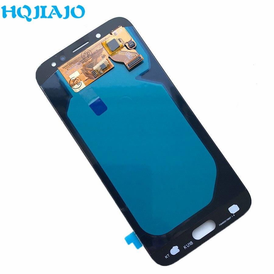 5 sztuk/partia wyświetlacz OLED ekran do Samsung Galaxy J7 Pro 2017 J730 J730F J730FM wyświetlacz LCD ekran dotykowy Digitizer zgromadzenia w Ekrany LCD do tel. komórkowych od Telefony komórkowe i telekomunikacja na AliExpress - 11.11_Double 11Singles' Day 1