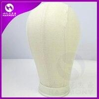 Белый, черный) гармония 10 шт. 21 дюймов до 25 дюймов подушечка из ткани дисплей для изготовления париков с полиуретаном внутри