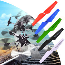 4 Pcsset Drone Wing for SYMA X5C X5SW X5 Quadcopter Main Blades Propellers Bullnose Mounting 5 Colors 13.5cm