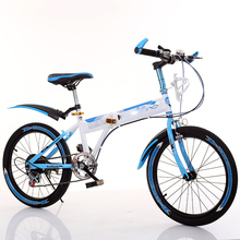 Best Buy 2017 Rushed Special Offer 16kg 120kg 18kg Steel Children Folding Bike 18 Inch 20 22 Outdoor Sports Mountain Speed Kids Bicycle