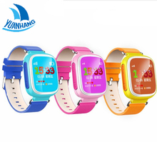 Smart GPS LBS 1.44′ Colorful Oled Screen Wristwatch SOS Call Location Finder Tracker Anti Lost Monitor Watch for Kid Child Q80