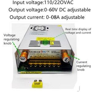 DIY светодиодный U-HOME AC110/220 до DC0-60V 8A Регулируемое напряжение переключатель режима питания для 100 Вт/200 Вт/300 Вт COB светодиодный