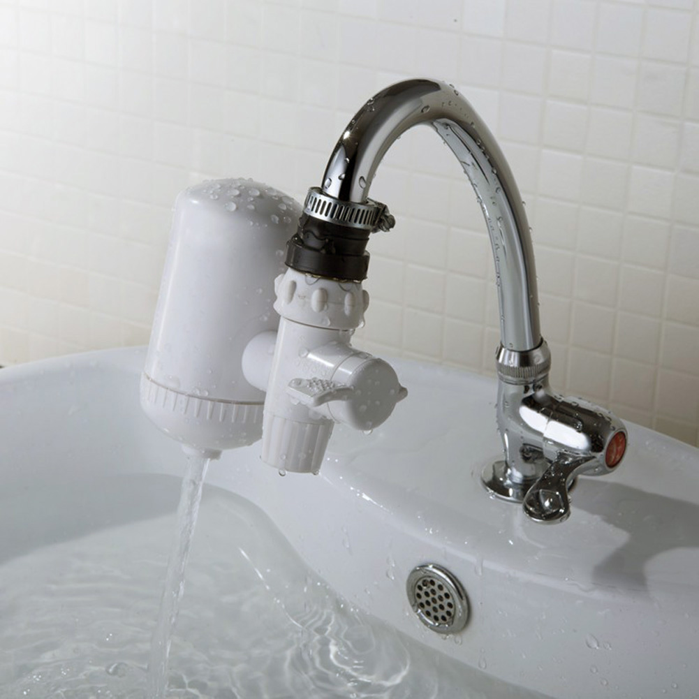 2017 Popular Portable Ceramic Faucet Filter Tap Water Purifier,water Filter  Alkaline Flexible Switching Safe