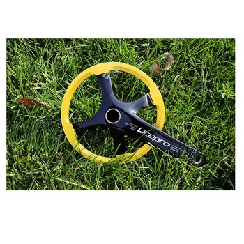 Litepro 45T 14inch Small wheels Bicycle Crank Chian Wheel Square Hole Design New Four claw tooth Disk Bike Cycling Accessory