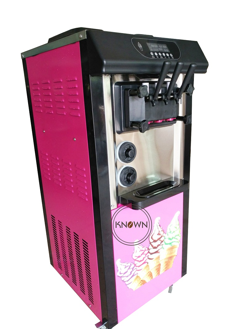 10% discount Soft Ice Cream Machine 220/110V frozen yogurt Mute design with Egg tray 3 flavors and free shipping by sea фролов и ред океанография и морской лед oceanography and sea ice