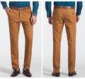 Бесплатная доставка Плюс размер мужской одежды осень новый коммерческий 100% хлопок случайных брюки мужские свободные длинные брюки размер 28-52