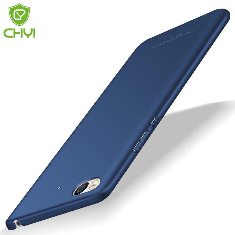 imágenes para Chyi 5S caja del teléfono dura de la PC para Xiaomi cubierta de lujo de 360 grados de protección del teléfono móvil de protección anti-golpe ultra delgada