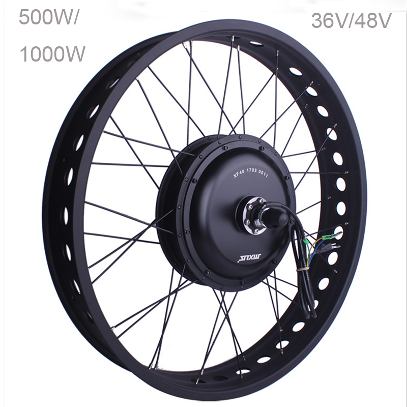 MXUS XF40C Electric Transport 36V 500W 1000W Hub Motor 26 E Bike Motor Rear Wheel Powerful Adult Electric Bike Electromoped