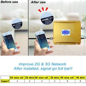Image 4 - شاشة الكريستال السائل GSM 900 mhz 3G 2100 mhz المزدوج الفرقة إشارة المحمول GSM مكرر 900 UMTS 2100 هاتف محمول الداعم celular مكبر للصوت 51