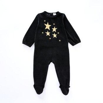 Baby bodysuit pyjamas kids clothes long sleeves children clothing newborn baby overalls children boy girls clothes baby pajamas 1