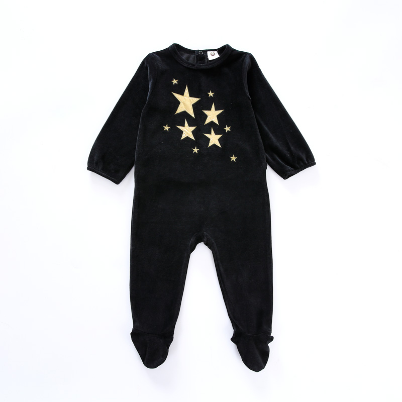 Baby Bodysuit Pyjamas Kids Clothes Long Sleeves Children Clothing Black Newborn Overalls Children Boy Girls Clothes Baby Pajamas