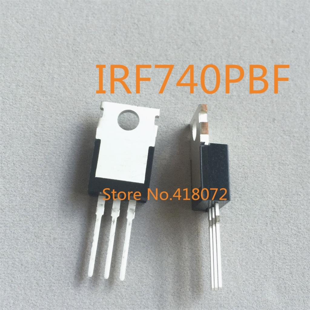 10pcs IRF740PBF IRF740 MOSFET N-CH 400V 10A TO-220  NEW HIGH QUALITY