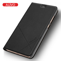 Xiaomi Redmi Note 4X Case Leather Flip Mobile Phone Cases Red Rice Note4x Luxury Protector Cover