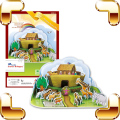 New Arrival Gift Noah's Ark 3D Puzzles Model Bible Story Classic Painting DIY Puzzle Education Toys Learning Game For Kids Model
