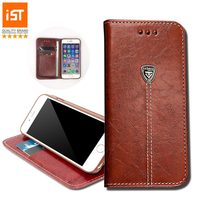 IST Phone Bag Case Wallet Leather Cover Case For IPhone 6 6S 7 Plus 4 4S