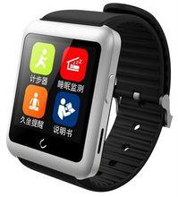 """U watch U11 Android Micro SIM 1.59 """"หน้าจอสัมผัสบลูทูธ4.0เข็มทิศPedometer PSGอยู่ประจำที่RCกล้องซิงค์โทรศัพท์นาฬิกาสมาร์ท"""